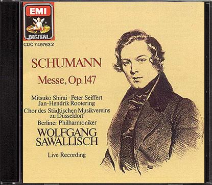 Schumann: Messe c-moll op. 147