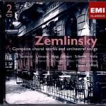 Wiederveröffentlichung: 2005 EMI 5 86079 2 2 CD © 1997; 1998; 1999 Zemlinsky: Frühlingsbegräbnis . 13., 23., 83. Psalm Frühlingsglaube . Geheimnis . Minnelied . Hochzeitsgesang . Aurikelchen . Waldgespräch . Maiblumen . Zwei Gesänge für Bariton und Orchester . Sechs Gesänge op. 13 . Symphonische Gesänge op. 20 Voigt . Albert . Schmidt . Isokoski . Urmana . Volle Der Chor des Städtischen Musikvereins zu Düsseldorf . Mülheimer Kantorei Gürzenich-Orchester Kölner Philharmoniker James Conlon