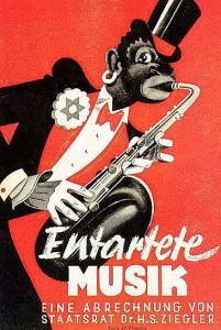 """Plakat """"Entartete Musik"""" Reichsmusiktage 1938"""