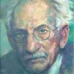 Pfitzner, Hans (1869-1949) Ölgemälde von Willy Preetorius, um 1948. Hans Pfitzner-Archiv, Würzburg.