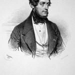 de Bériot, Charles Auguste (1802-1870) war ein belgischer Violinist, Violinpädagoge und Komponist. Lithographie von Joseph Kriehuber, 1839