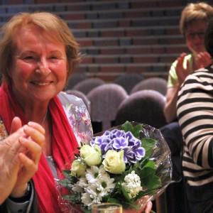 50 Jahre Musikverein Glückwunsch an Monika Greis