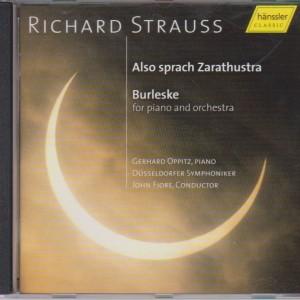 """Richard Strauss """"Also sprach Zarathustra"""" + """"Burleske"""""""