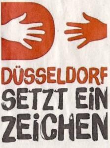 Düssseldorf setzt ein Zeichen