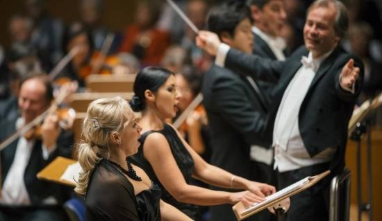 Großartiger Auftritt: Elisabet Strid (v. li.), Ramona Zaharia und Axel Kober.