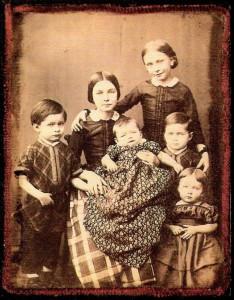 Robert und Clara Schumanns Kinder