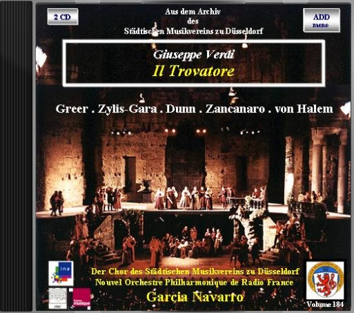 Aufnahme: A2 / Radio France - France Musique (TV-Ton: mono), Theatre Antique d'Orange, 31.07.1981 (life), © 2016 by ina.fr: PHY12002208, Überspielung: ina.fr Remastering + Layout: Rainer Großimlinghaus, Steinberg WaveLab 3.04; Kleinmachnow, 05/2016; © 2016/1981 by Städtischer Musikverein zu Düsseldorf e.V.