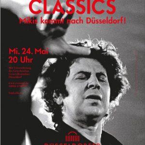 Plakat zum Theodorakis-Konzert im Mai 2017