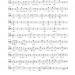 Seite 2 des Ständchen für Reinhard Kaufmann (Text: Georg Lauer)