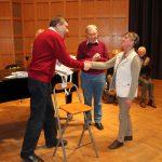 Preisverleihung an Wilma Dieckmann-Bastiaan