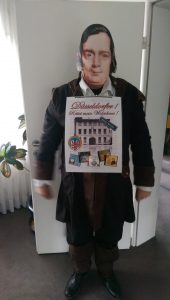 Manfred Hill als Robert Schumann im Karneval 2017