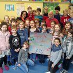 Kinder der KGS Unter den Eichen spenden für die SingPause