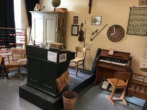 Das historische Klassenzimmer in der Max-Schule. Hier ging Heinrich Heine zur Schule
