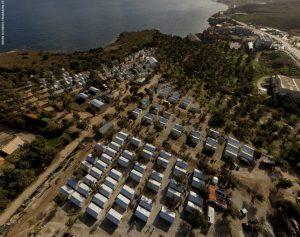 "Flüchtlingsdorf ""Kara Tepe"" auf Lesbos"