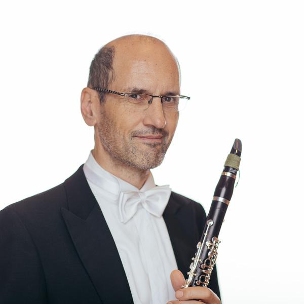 Georg Stump Bassklarinettist der Düsseldorfer Symphoniker