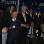 OB Thomas Geisel mit Herrn Fischer, Vors. des Fördervereins