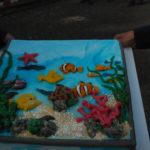 Die Torte zur Eröffnung des Aquazoos.