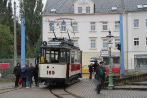 Im Straßenbahn-Museum