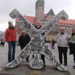 Düsseldorfer Radschläger sind natürlich auch in der Partnerstadt Chemnitz zu finden.