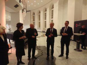 Marieddy Rossetto, Manfred Hill, Stefan Bilz, Christian Dietrich (v.l.n.r.)