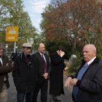 Prof. Dr. Bernd Kortländer, Dr. Edgar Jannott, Florian Merz-Betz, Dr. Wolfgang Niebur, Manfred Hill (v.l.n.r.)