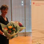 Dorothée Coßmann von der Sparkassen Kulturstiftung als unermüdliche Organisatorin