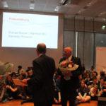 Präsident Michael Breuer dankt den Kindern für die Ausdauer und bittet um eine Zugabe.