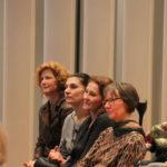 Singleiterinnen aus der SingPause: Ricarda Holtkamp, Radmila Boochs, Beate Rademacher, Christine Modersohn (v.l.n.r.)