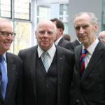 Dr. Peter Hölz, Manfred Hill, Dr. Edgar Jannott (v.l.n.r.)