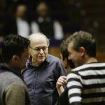 Adam Fischer im Gespräch mit den Solisten zu Mozarts c-Moll Messe