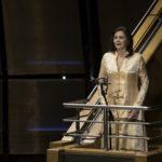 Die wunderbare Anna Larsson sang vom Rang der Tonhalle in den Saal