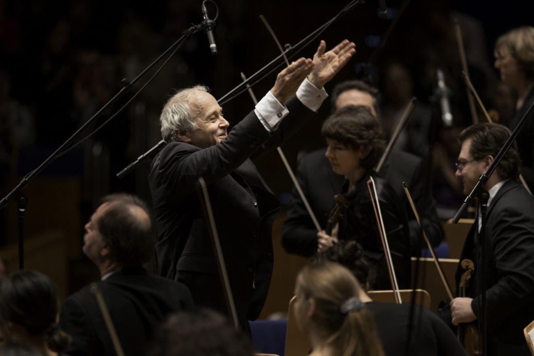 Adam Fischer nach dem großartigen Konzert