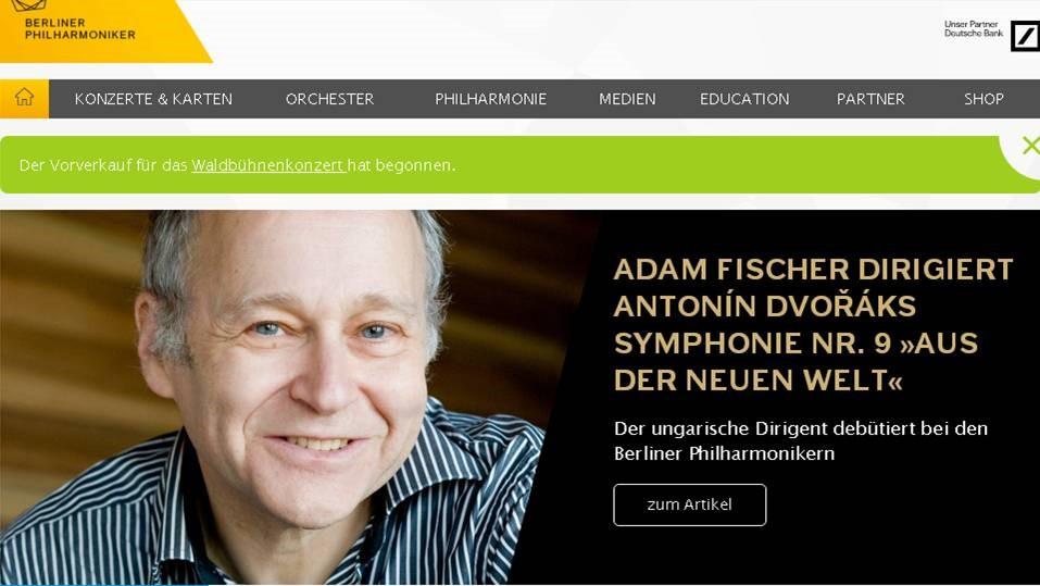 Adam Fischer bei den Berliner Philharmonikern