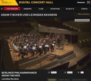 Adam Fischer und die Berliner Philharmoniker