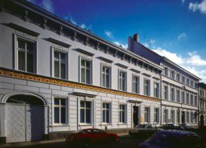 """Heinrich-Heine-Institut auf der Düsseldorfer Bilker Straße, der Straße der """"Romantik und Revolution"""""""