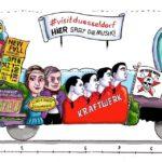 Musikverein im Rosenmontagszug - Düsseldorf ist ganz Ohr