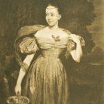Die Sängerin Clara Novello, Star des Musikfestes 1839 unter der Leitung von Felix Mendelssohn Bartholdy. (Stahlstich nach einem Gemälde von Edward P. Novello).