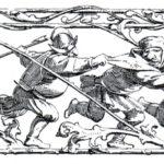 """Adolf Schroedter: Illustration """"Nachtmusikanten"""", 1833 (Ausschnitt)"""