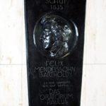 """Gedenktafel zur Entstehung des """"Paulus"""" (1835) im Hause von Wilhelm von Schadow. Hier wohnte und arbeitete Felix Mendelssohn Bartholdy"""
