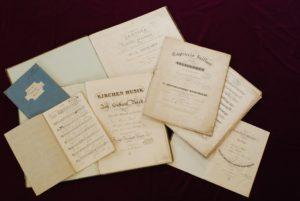 Aufführungsmaterialien aus Mendelssohns Zeit in Düsseldorf
