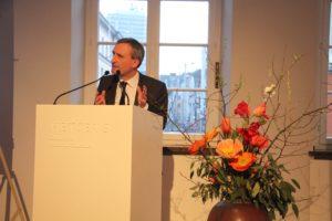 Oberbürgermeister Thomas Geisel bei seiner sehr kundigen Eröffnungsrede