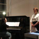 Rie Sakai, Klavier und Carolina Rüegg, Sopran