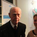 Dr. Hermann Lohausen mit Tochter Lia Lohausen