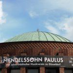 200 Jahre Musikverein (Banner zum Paulus-Festkonzert an der Tonhalle Düsseldorf)