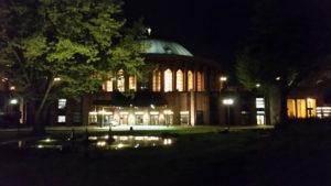 """Abendstimmung vor der Tonhalle vor dem Festkonzert """"Paulus"""" am 20.4.2018"""