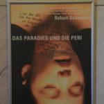 """Plakat zu """"Paradies und die Peri"""" mit persönlichen Kommentaren von Gregor Seffert für Marieddy Rossetto und Manfred Hill (Schumannfest 2004)"""