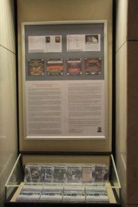 Erläuterungen von Rainer Großimlinghaus zum Schallarchiv und Ausstellung aller Feature-CDS