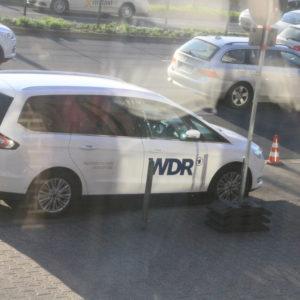 """Der WDR brachte einen Bericht von der Probenarbeit in der """"Aktuellen Stunde""""."""