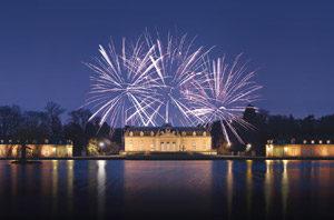 Lichterfest am Schloss Benrath