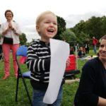 Moritz Hill beim musikalischen Picknick
